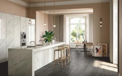 Premium White de SapienStone para encimeras de cocina
